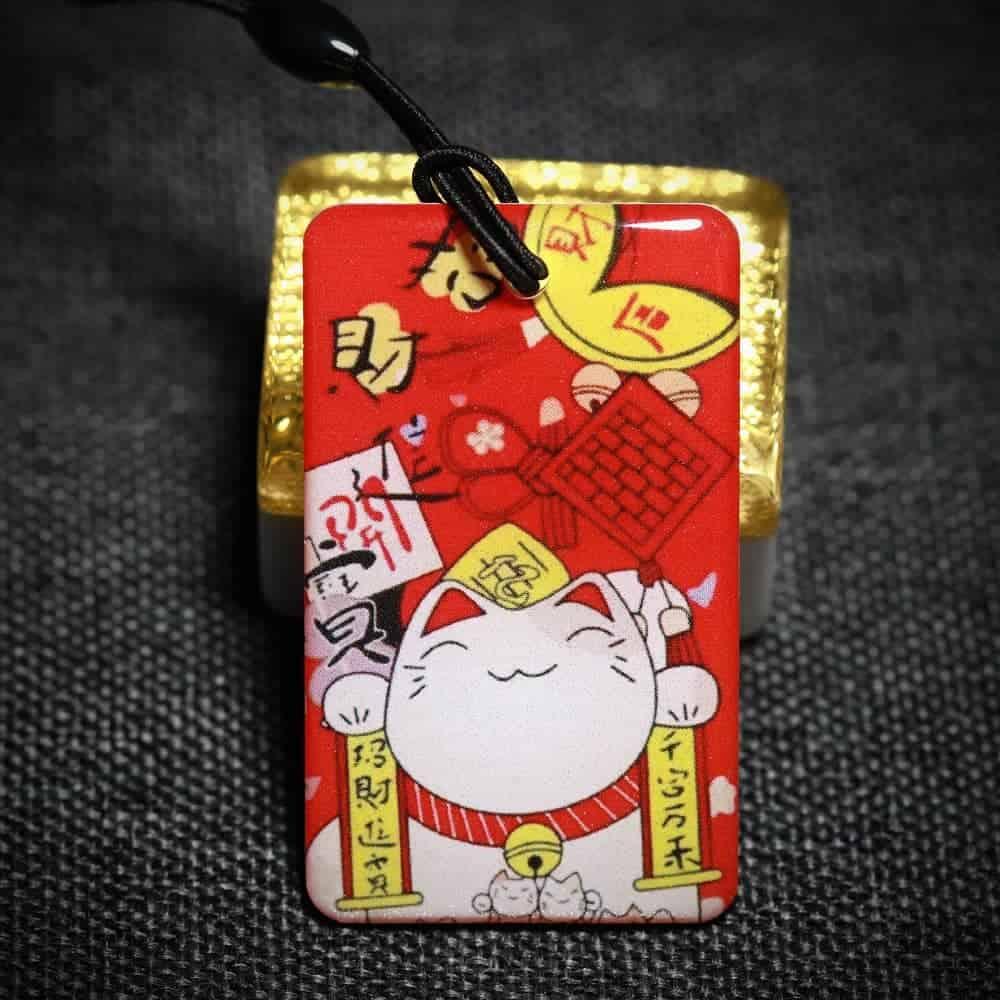 Samsung Digital Door Lock RFID Tag – Prosperity Lucky Fortune Cat 招财猫
